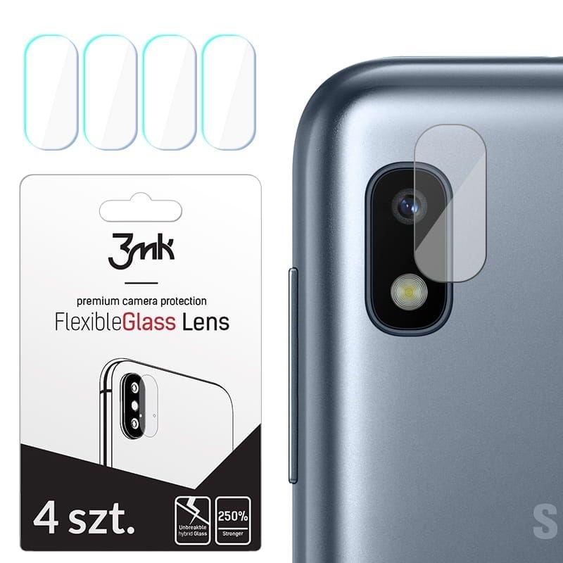 3MK Glass Camera Protector - Αντιχαρακτικό Προστατευτικό Γυαλί για Φακό Κάμερας Samsung Galaxy A10 - 4 τεμάχια (50597)