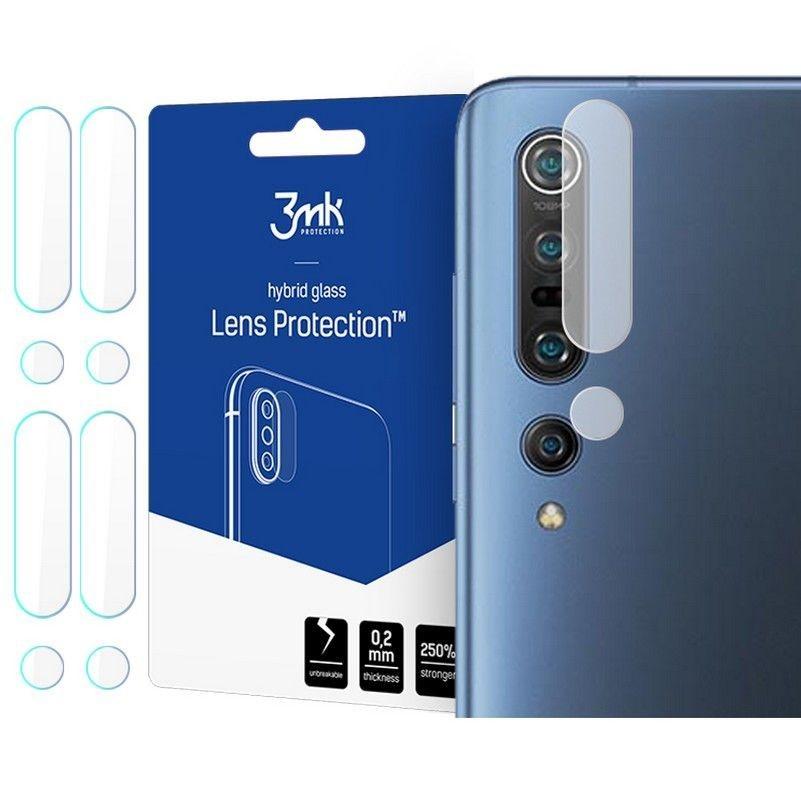 3MK Glass Camera Protector - Αντιχαρακτικό Προστατευτικό Γυαλί για Φακό Κάμερας Xiaomi Mi 10 - 4 τεμάχια (63858)