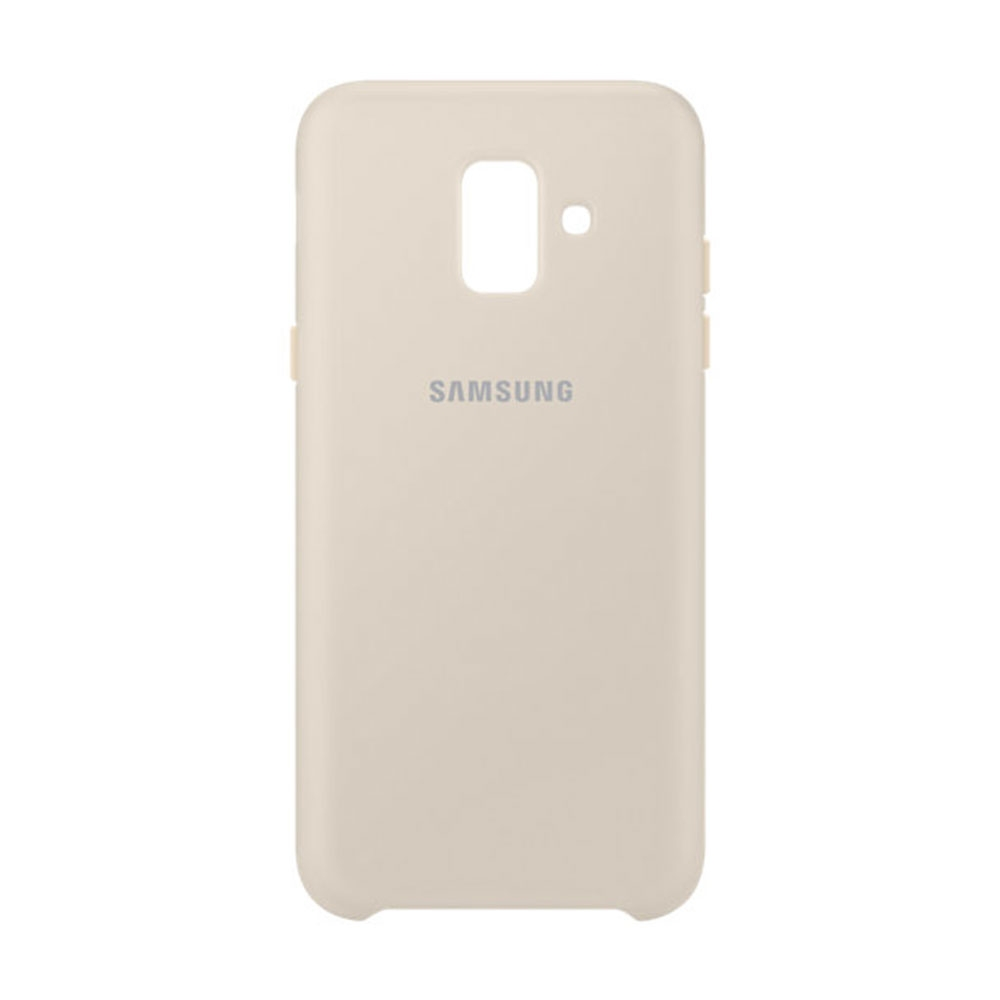 Samsung Official Dual Layer Cover Samsung Galaxy A6 2018 - Gold (EF-PA600CFEGWW)