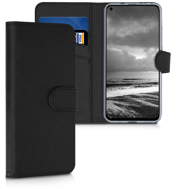 KW Θήκη-Πορτοφόλι Huawei Honor View 20 - Μαύρο(47305.01)