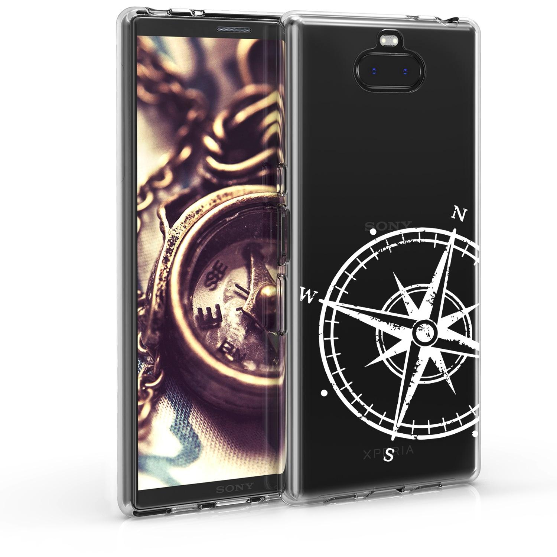 KW Θήκη Σιλικόνης Sony Xperia 10 Plus - White / Transparent (48003.01)