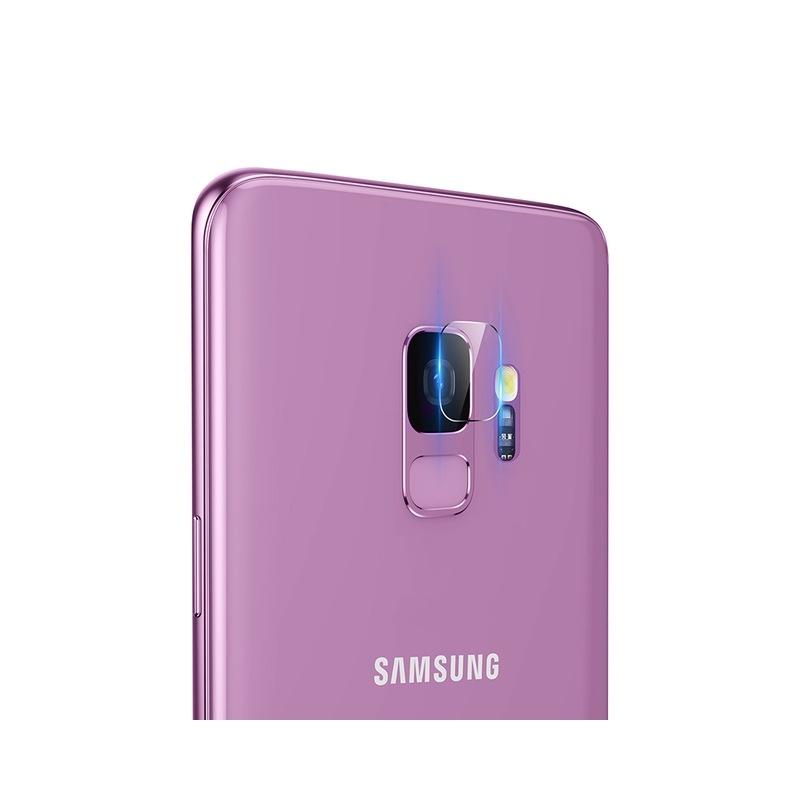 Baseus Camera Lens Glass Film - Αντιχαρακτικό Προστατευτικό Γυαλί για Φακό Κάμερας - Samsung Galaxy S9 - 2 τεμάχια (SGSAS9-JT02)