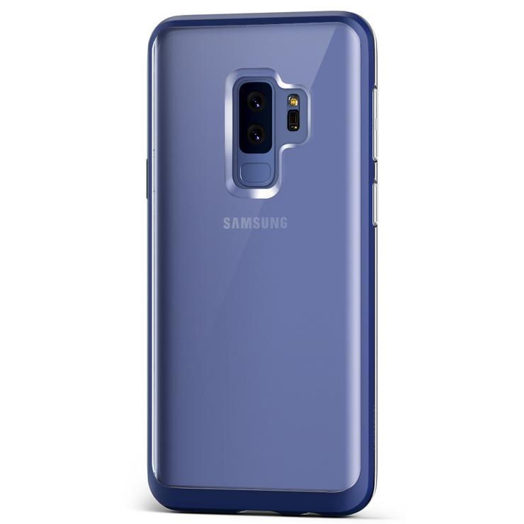 VRS Design Θήκη Crystal Bumper Samsung Galaxy S9 Plus - Deep Sea Blue (VRSGS9P-CRBDB)