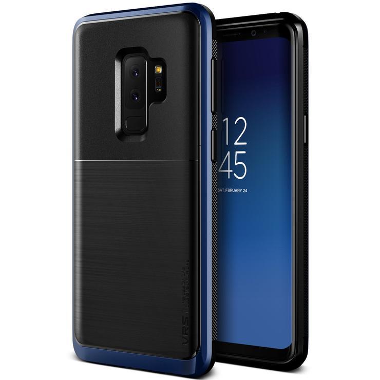 VRS Design Θήκη High Pro Shield Series Samsung Galaxy S9 Plus  - Deep Sea Blue (VRSGS9P-HPSDB)
