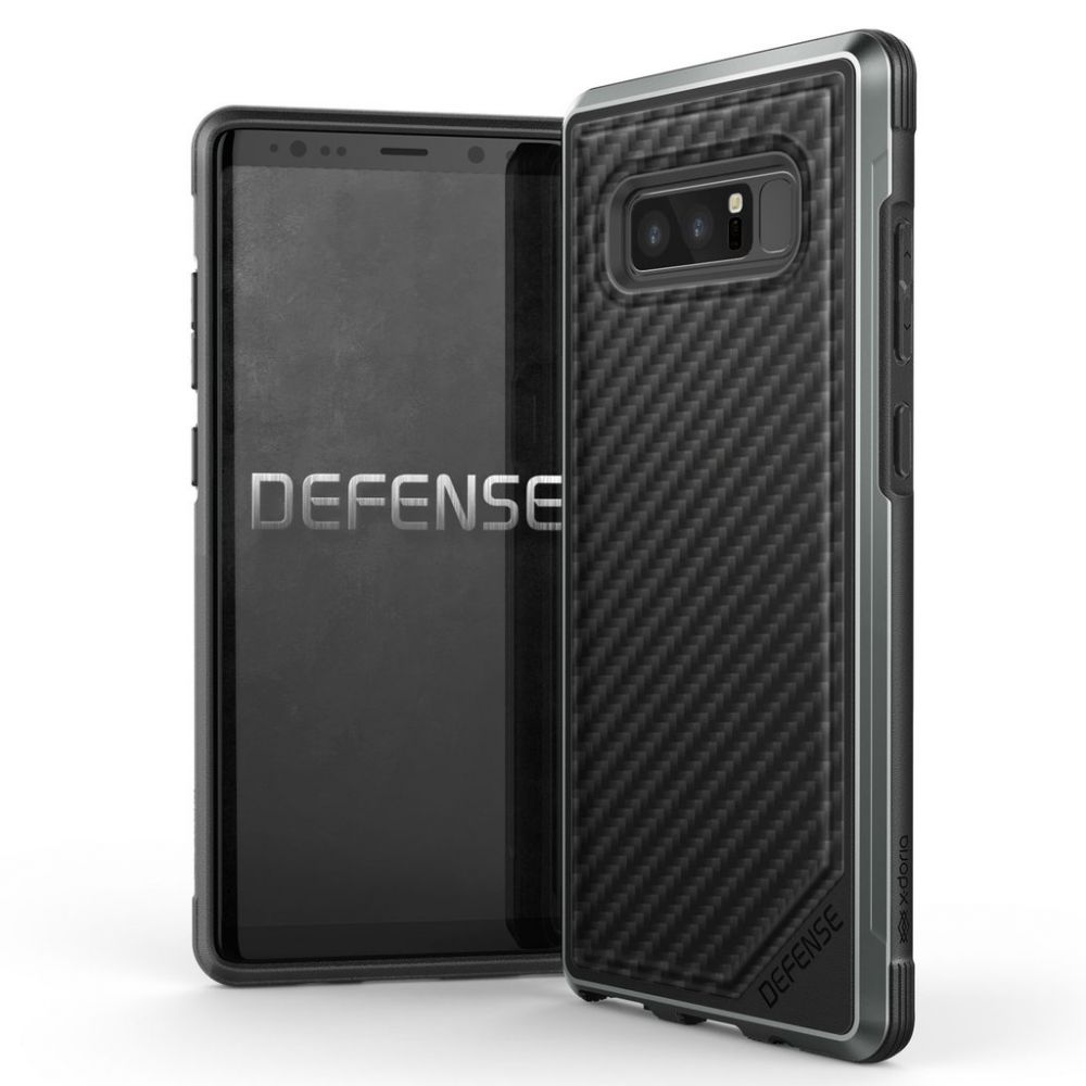 X-Doria Defense Lux Θήκη Samsung Galaxy Note 8 - Black Carbon (3X3M7101A)