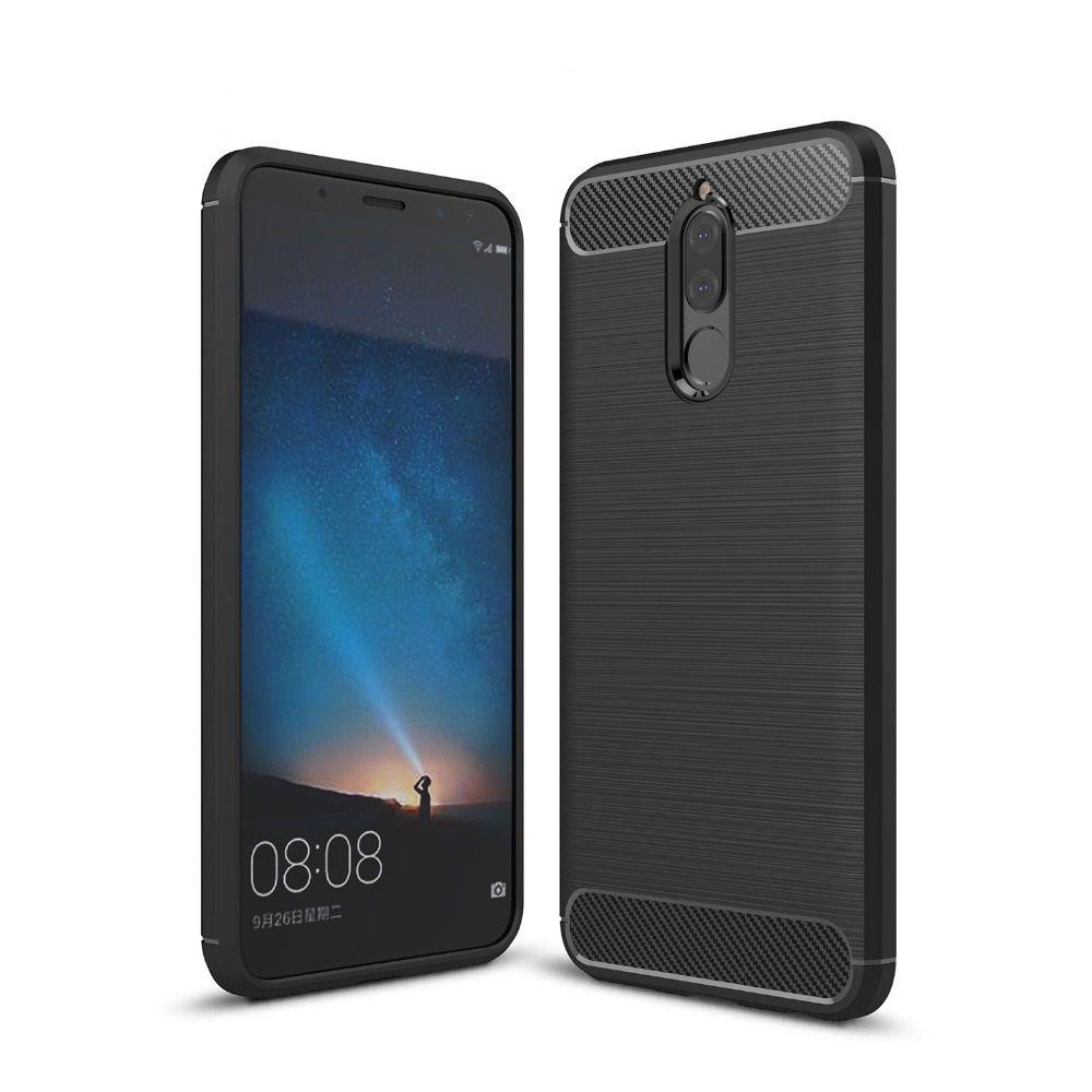 Θήκη TPU Carbon Huawei Mate 10 Lite - Black - OEM (11854)