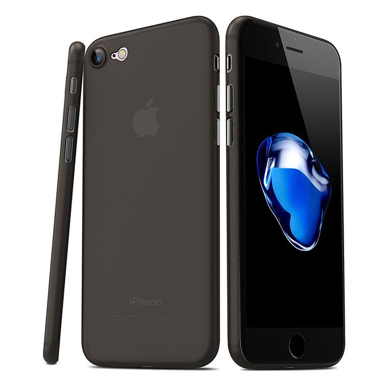 Benks Ultra-Thin Θήκη Magic Lollipop iPhone 8 Plus / 7 Plus (0.4mm) - Smoke Black (12206)