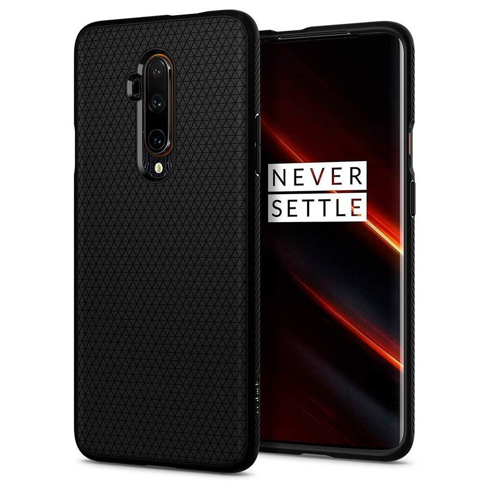 Spigen Θήκη Liquid Air OnePlus 7T Pro - Black Matte (ACS00313)