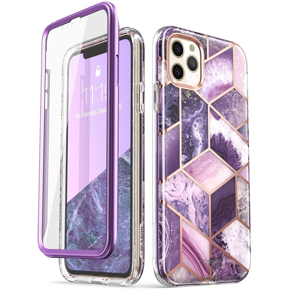 Supcase i-Blason Ανθεκτική Θήκη Cosmo iPhone 11 Pro - Purple (YX191028)