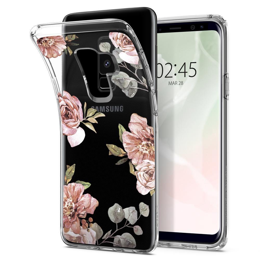 Spigen Θήκη Liquid Crystal Blossom Samsung Galaxy S9 Plus - Flower (593CS22916)