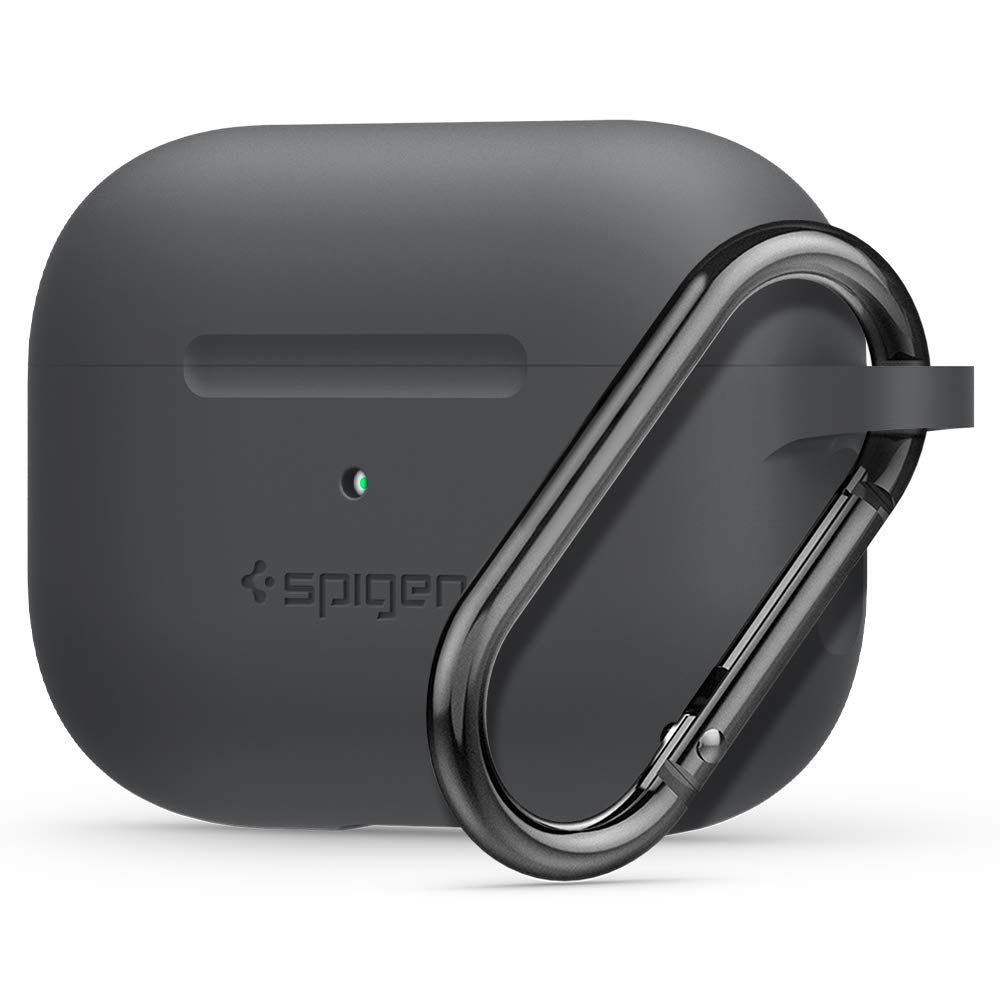 Spigen Silicone Fit Θήκη Apple Airpods Pro - Charcoal (ASD00536)