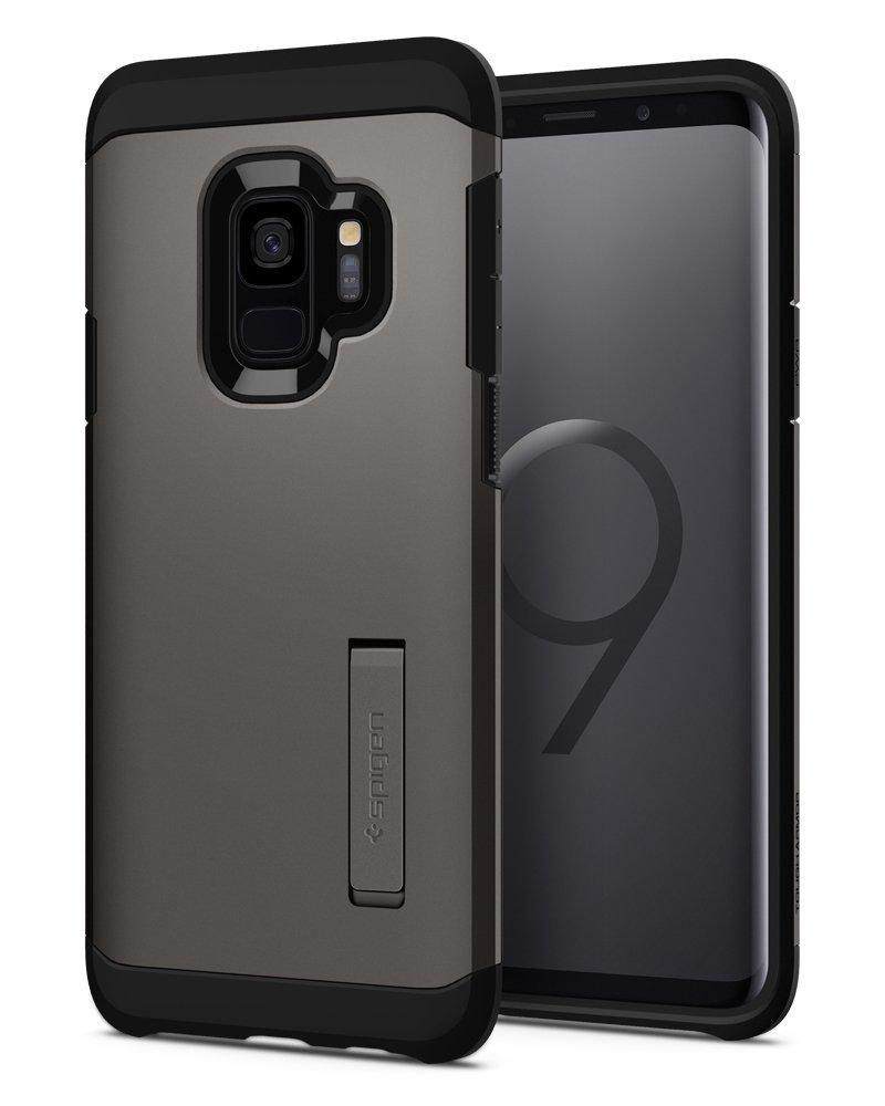 Spigen Θήκη Tough Armor Samsung Galaxy S9 - Gunmetal (592CS22845)