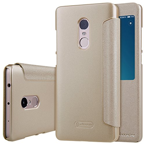 Nillkin Θήκη Sparkle View-Flip Xiaomi Redmi Note 4/Note 4Χ - Gold (10424)