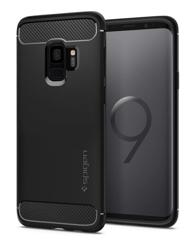 Spigen Θήκη Rugged Armor Samsung Galaxy S9 - Black (592CS22834)