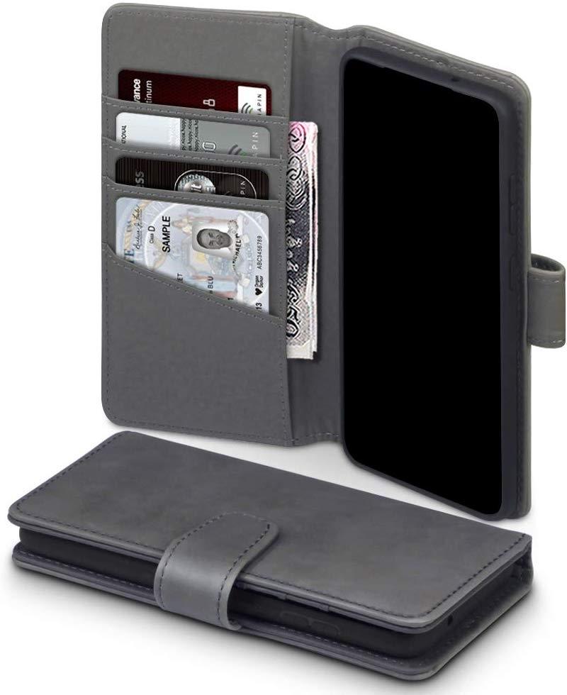 Terrapin Δερμάτινη Θήκη - Πορτοφόλι Samsung Galaxy S20 - Grey (117-002a-226)