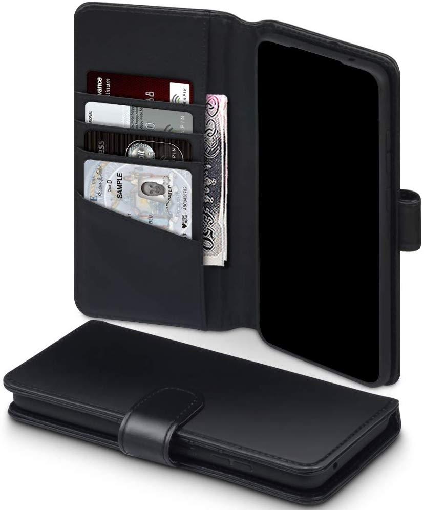 Terrapin Δερμάτινη Θήκη - Πορτοφόλι Samsung Galaxy S20 Ultra - Black (117-002a-246)