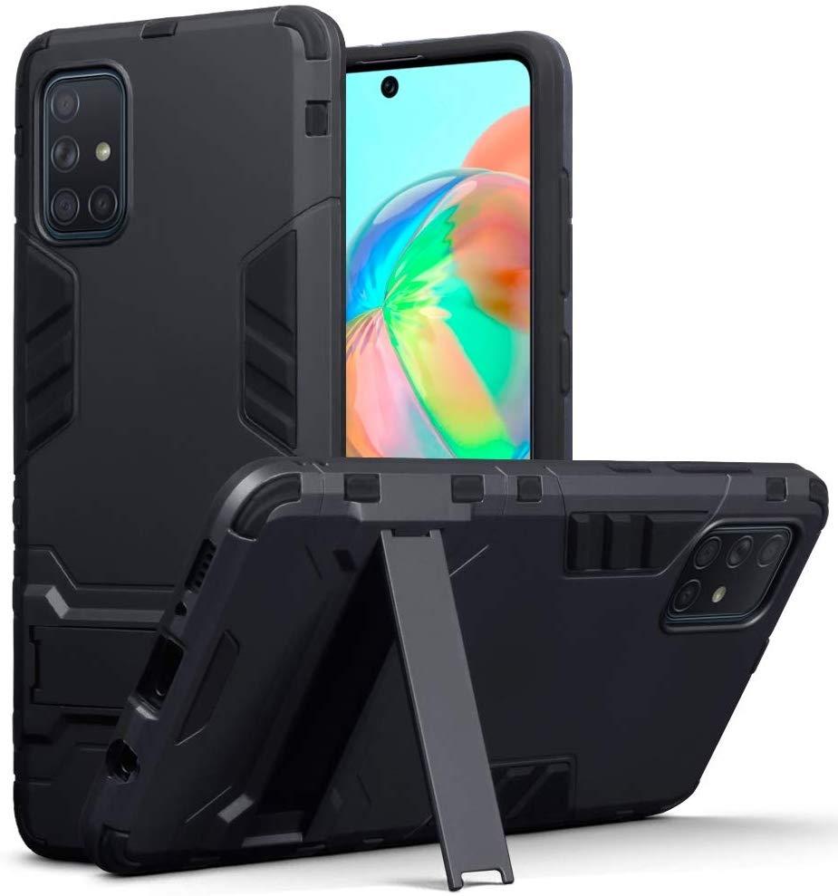 Terrapin Ανθεκτική Θήκη Dual Layer Samsung Galaxy A71 - Black (131-002-212)