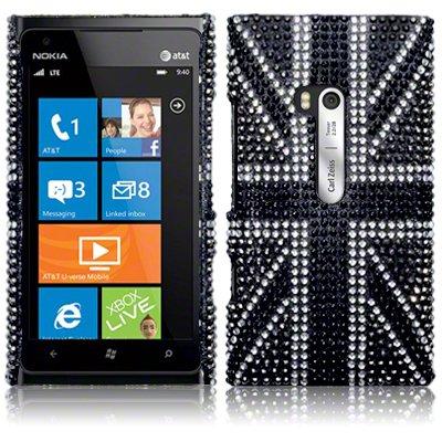 Θήκη Nokia Lumia 900 - Στρας by Terrapin (138-001-012)