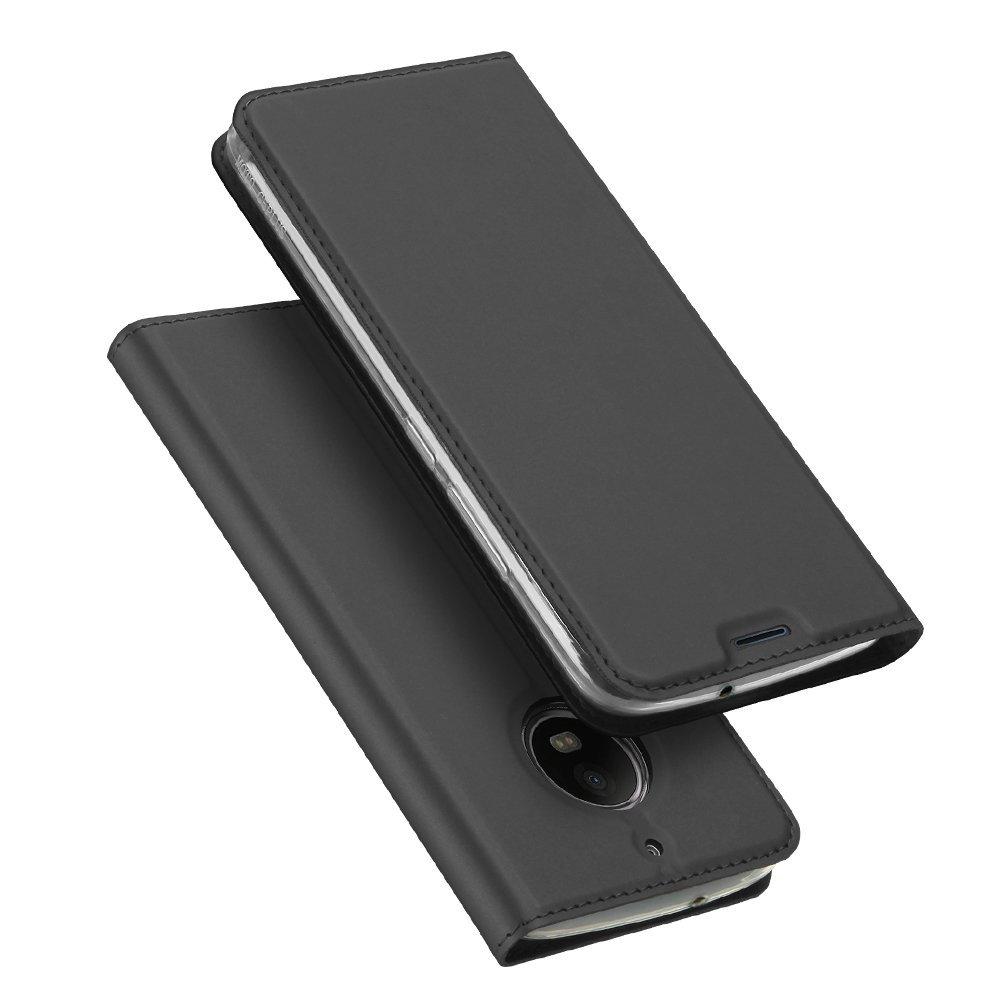 Duxducis Θήκη - Πορτοφόλι Motorola Moto G5S - Grey (12030)