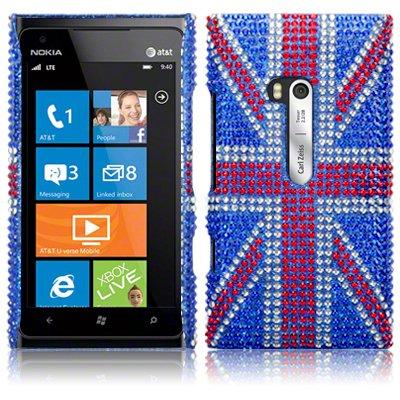Θήκη Nokia Lumia 900 - Στρας by Terrapin (138-001-016)