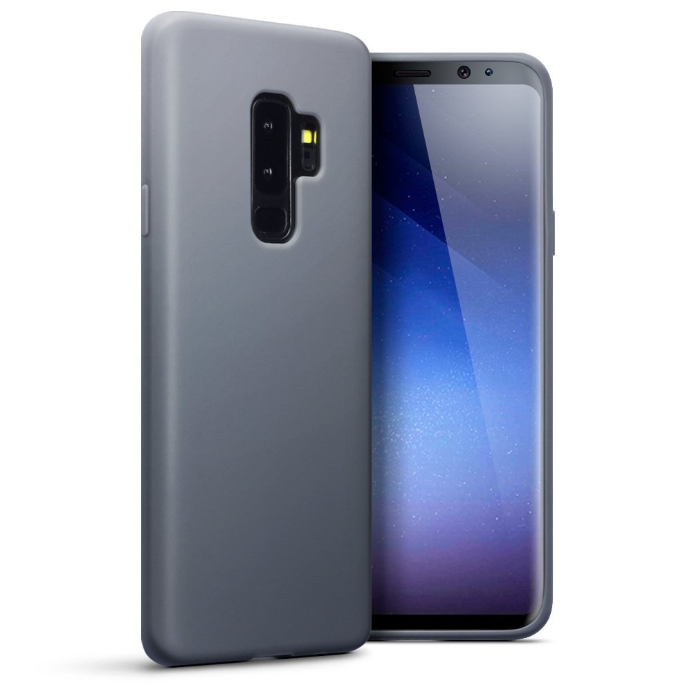 Terrapin Θήκη Σιλικόνης Samsung Galaxy S9 Plus - Grey (118-002-683)