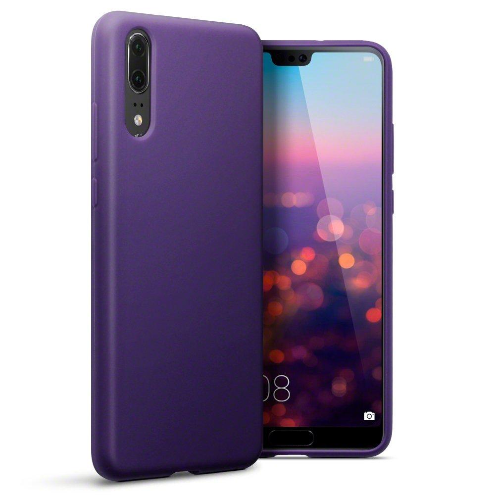 Terrapin Θήκη Σιλικόνης Huawei P20 - Purple Matte (118-083-150)