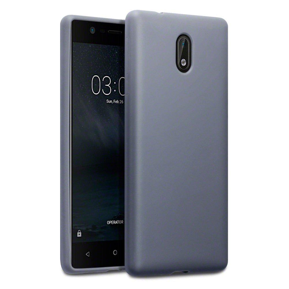 Terrapin Θήκη Σιλικόνης Nokia 3 - Grey (118-001-234)