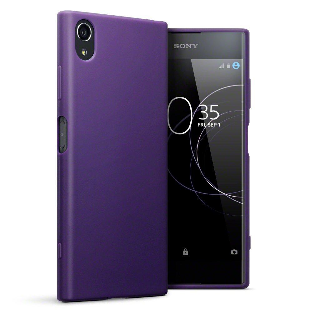 Terrapin Θήκη Σιλικόνης Sony Xperia XΑ1 Plus - Purple (118-005-418)