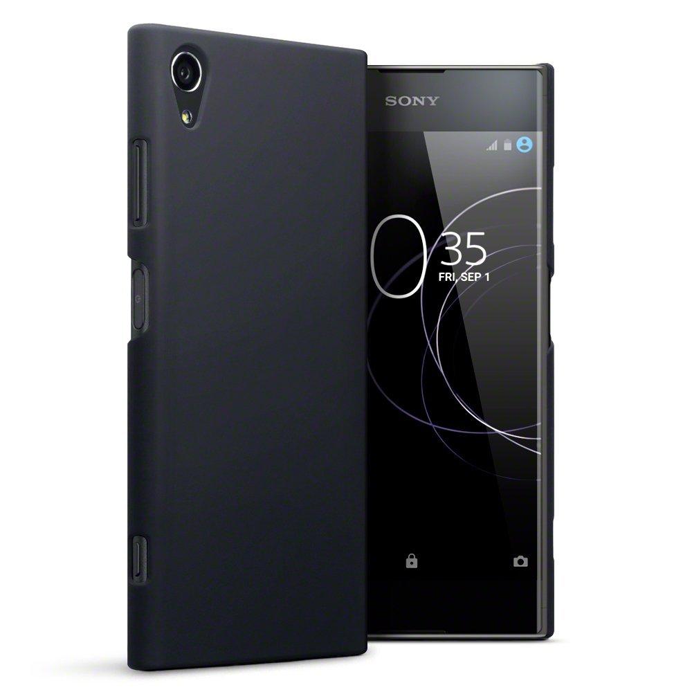 Terrapin Σκληρή Θήκη Καουτσούκ Sony Xperia XΑ1 Plus - Black (151-005-128)