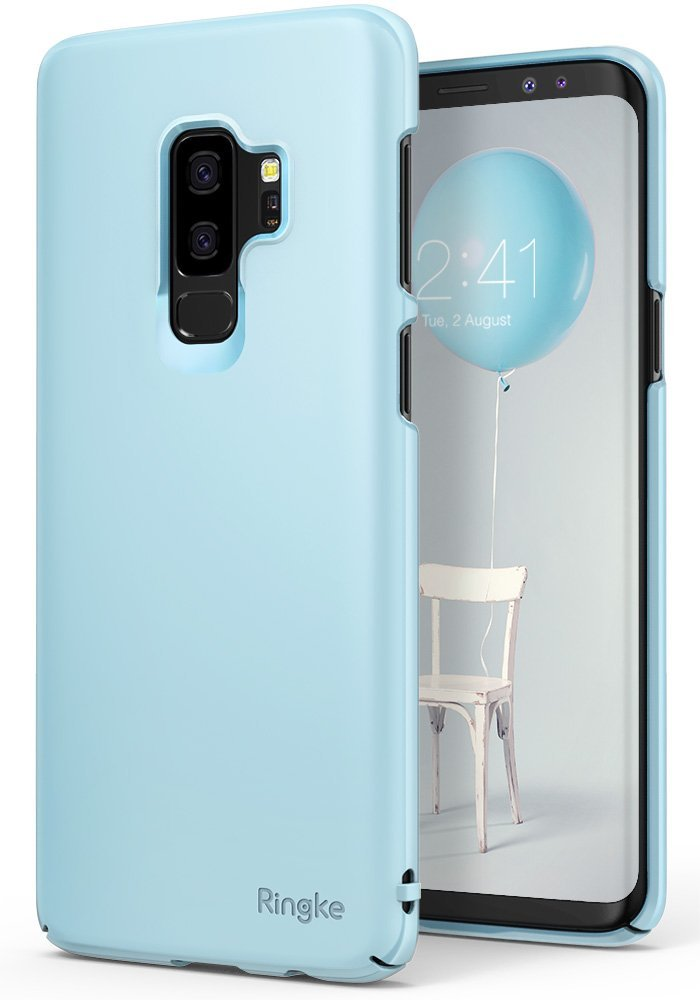 Ringke Slim Θήκη Samsung Galaxy S9 Plus - Sky Blue (RGK660BLU)