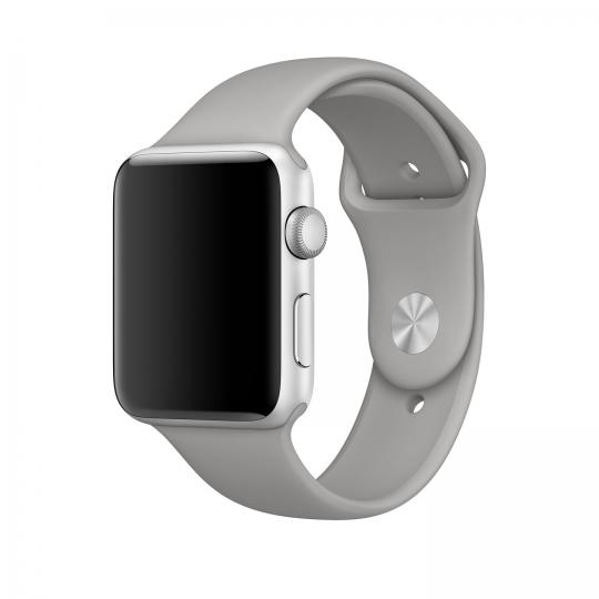 Ανταλλακτικό Λουράκι Apple Watch 5/4/3/2/1 (44/42mm) - Grey - OEM (11260)