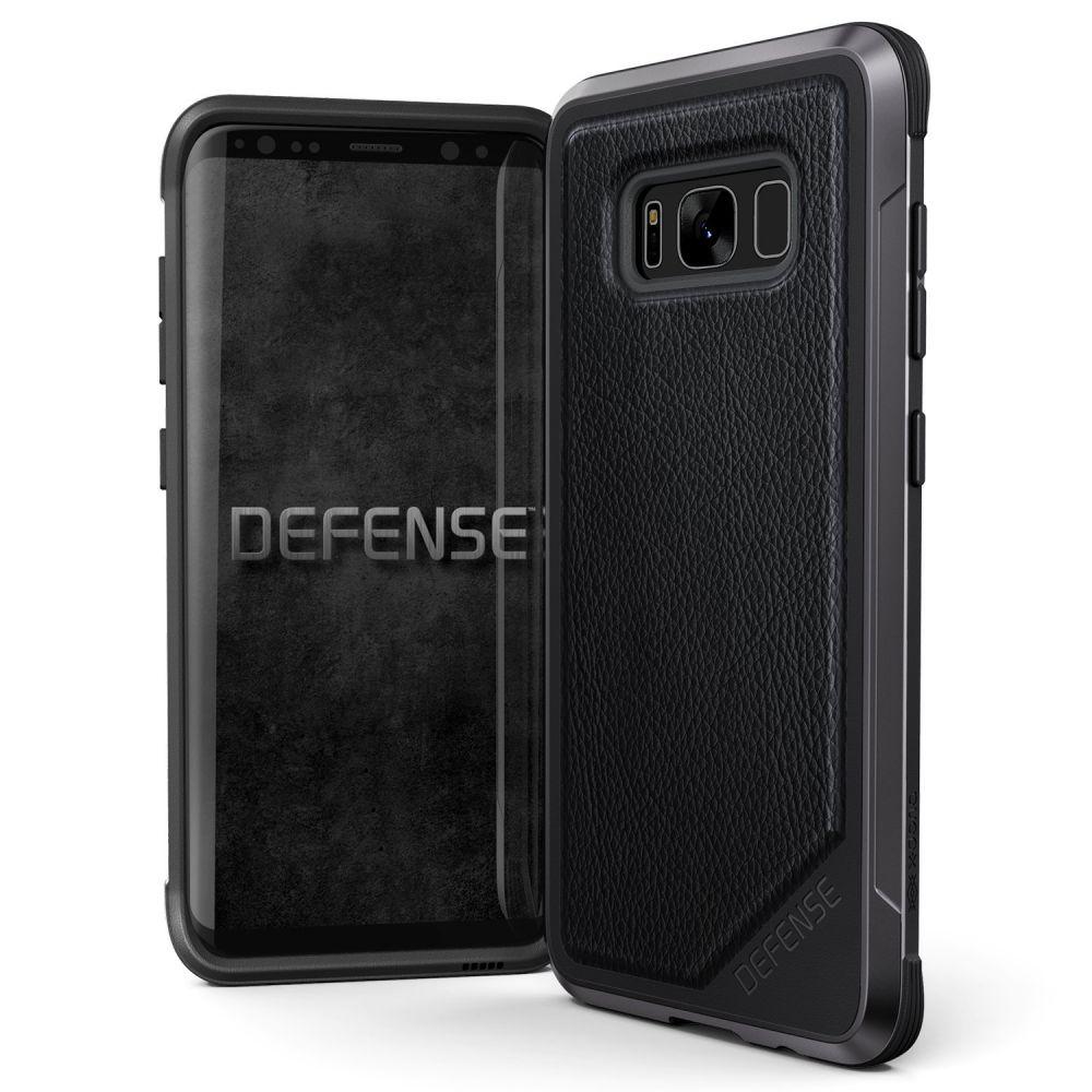 X-Doria Defense Lux Θήκη Samsung Galaxy S8 - Black Leather (3X3R2101A)