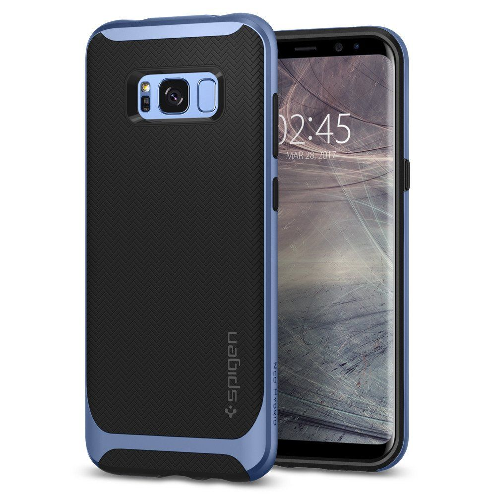 Spigen Θήκη Neo Hybrid Samsung Galaxy S8 - Coral Blue (565CS21598)