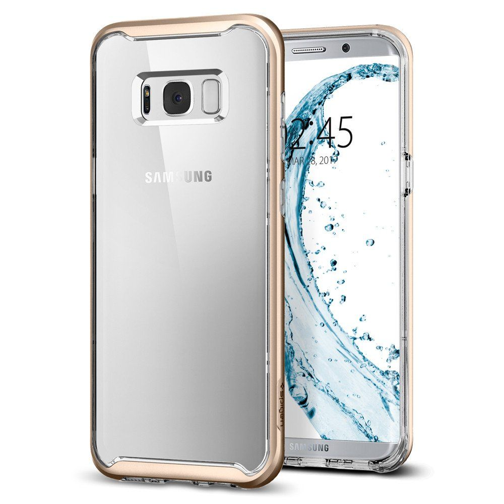 Spigen Θήκη Neo Hybrid Crystal Samsung Galaxy S8 Plus - Gold Maple (571CS21655)
