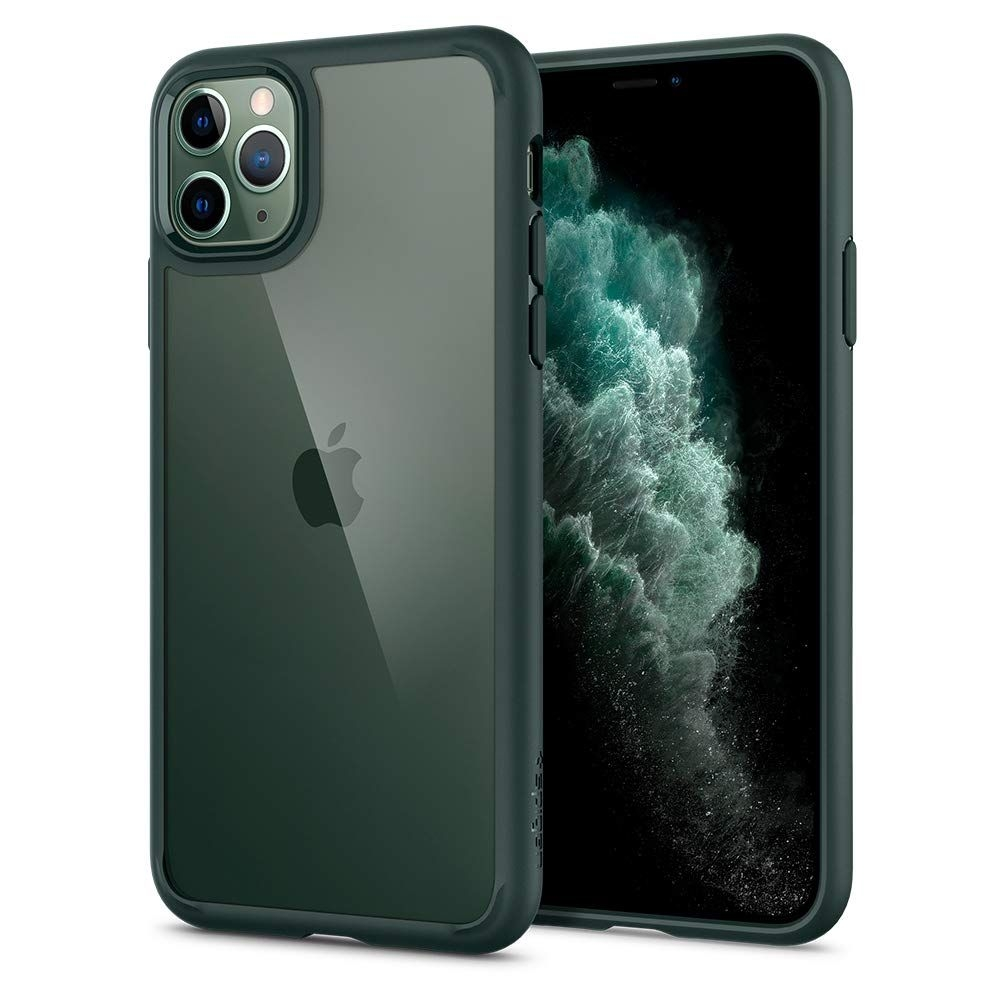 Spigen Ultra Hybrid Θήκη iPhone 11 Pro - Midnight Green (ACS00417)
