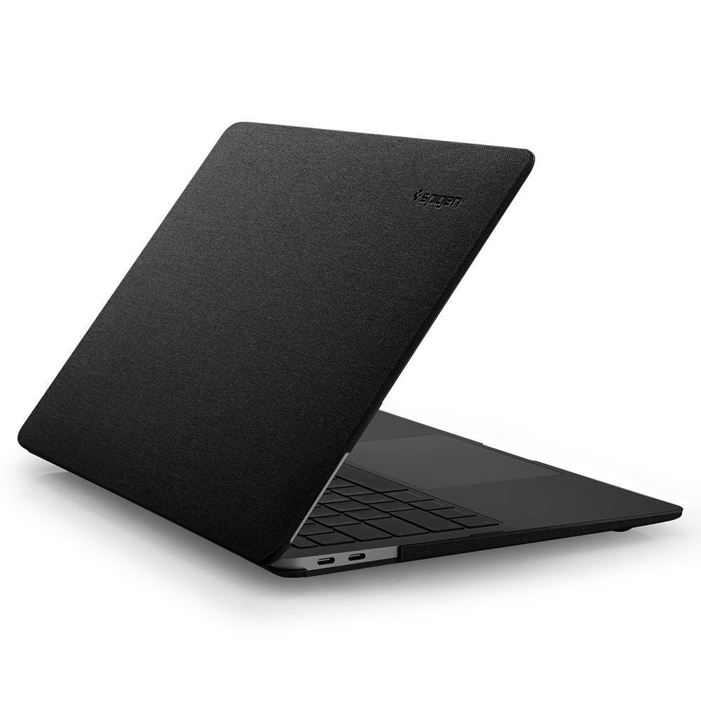 Spigen Θήκη Thin Fit Apple Macbook Air 13'' 2018 - Black (071CS25963)