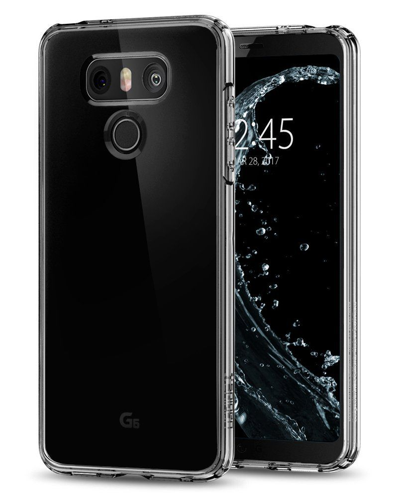 Spigen Ultra Hybrid Θήκη LG G6 - Crystal Clear (A21CS21233) θήκες κινητών