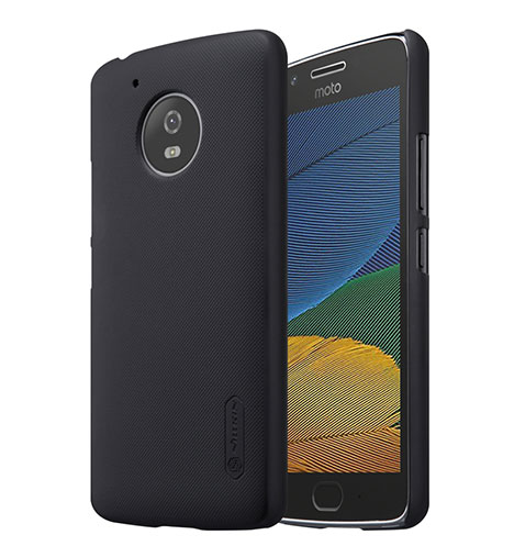 Nillkin Θήκη Super Frosted Shield Motorola Moto G5S & Screen Protector - Black (12296)
