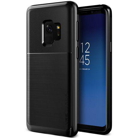 VRS Design Θήκη High Pro Shield Series Samsung Galaxy S9 Plus - Metal Black (VRSGS9P-HPSMB)