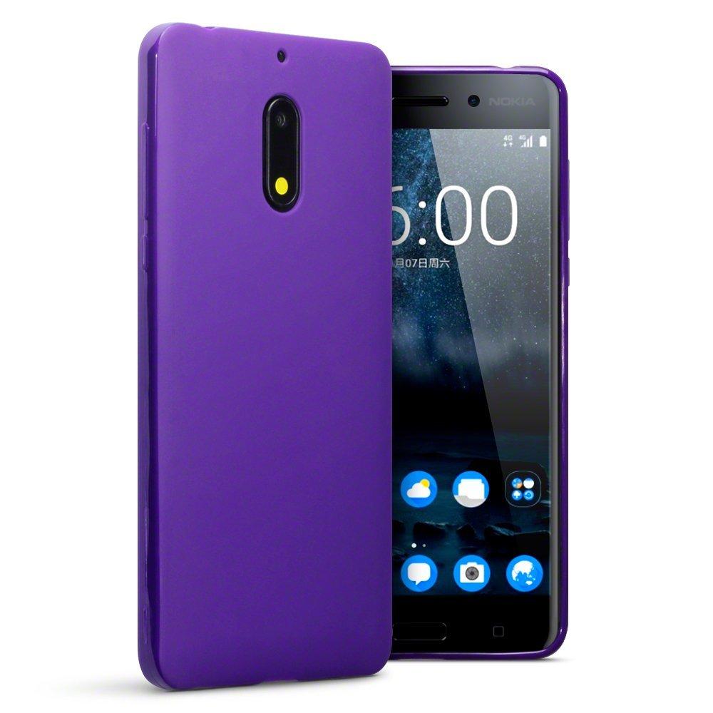 Terrapin Θήκη Σιλικόνης Nokia 6 - Purple Matte (118-001-240)