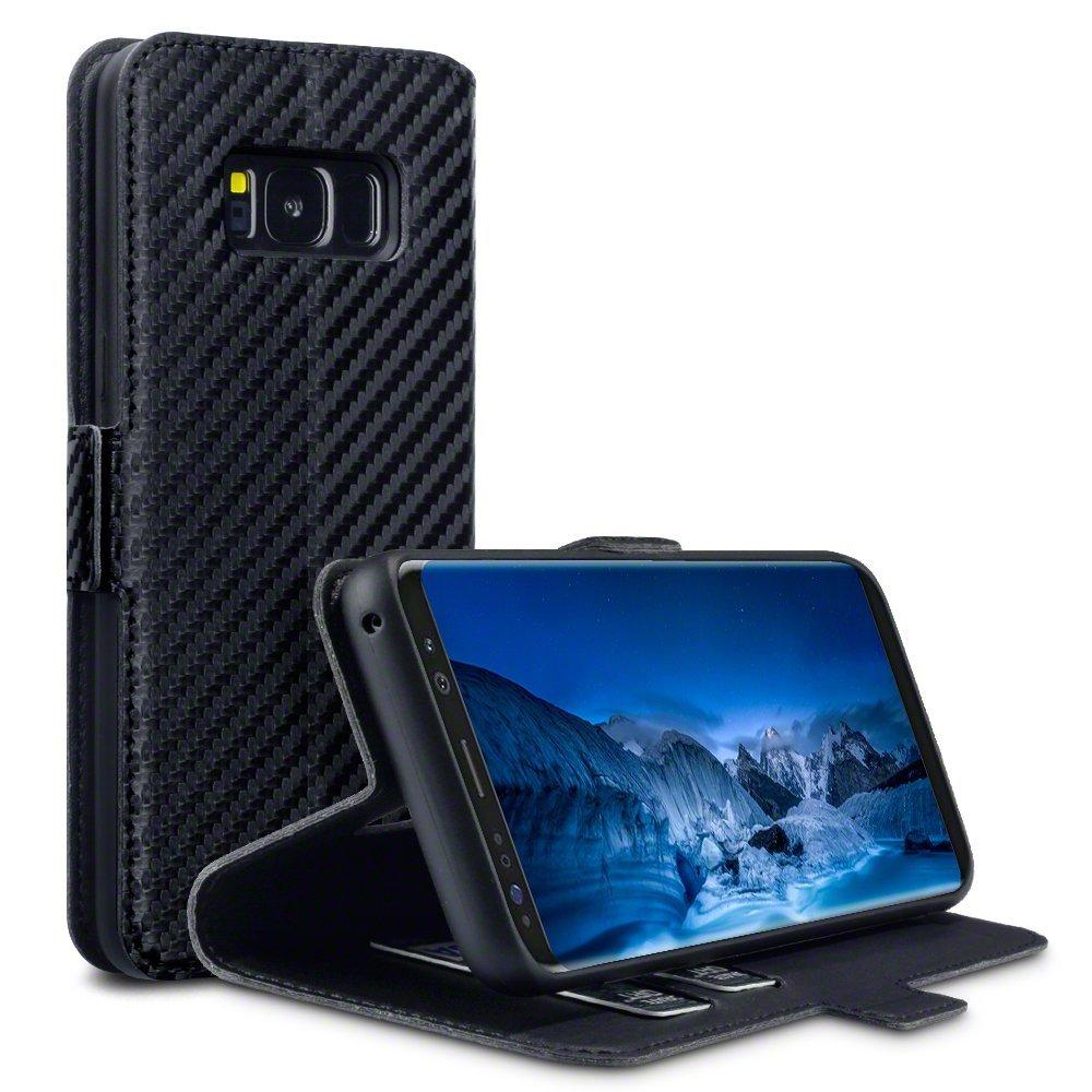 Terrapin Θήκη Πορτοφόλι Samsung Galaxy S8 - Black Carbon Fibre (117-002-988)