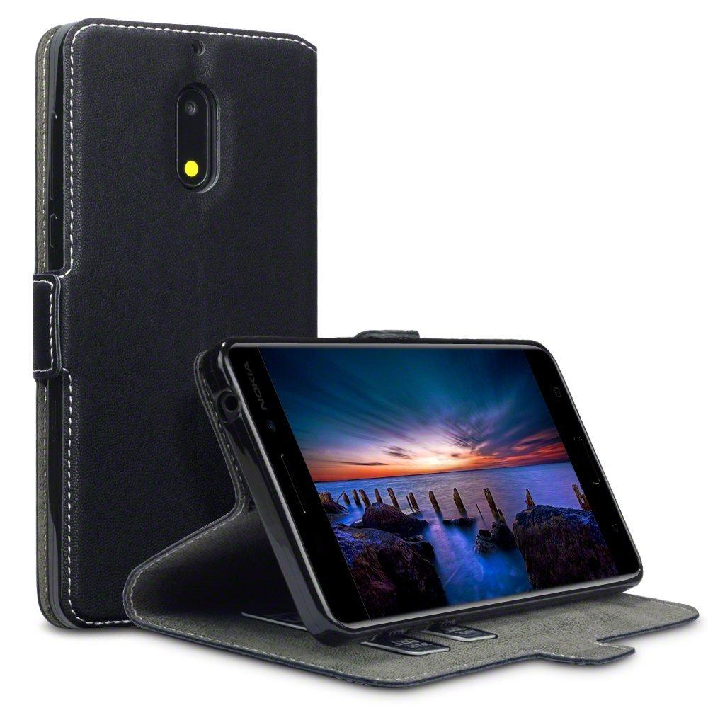Terrapin Θήκη - Πορτοφόλι Nokia 6 - Black (117-001-255)