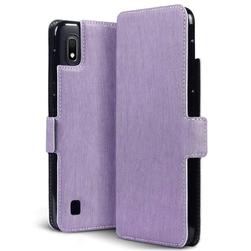 Terrapin Low Profile Θήκη - Πορτοφόλι Samsung Galaxy A10 - Purple (117-002a-126)