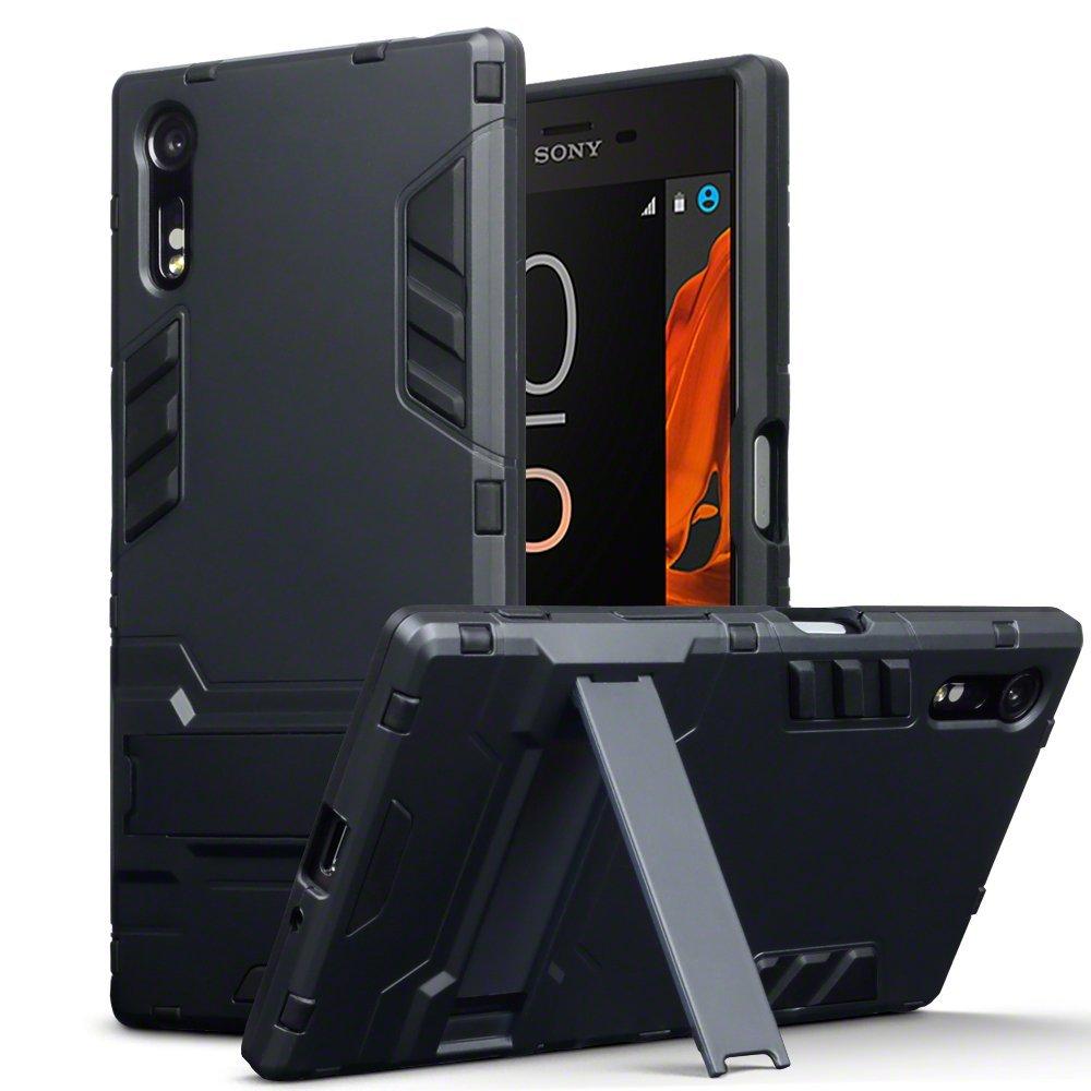 Terrapin Ανθεκτική Θήκη με Stand Sony Xperia XZ/ XZs - Black (131-005-043)