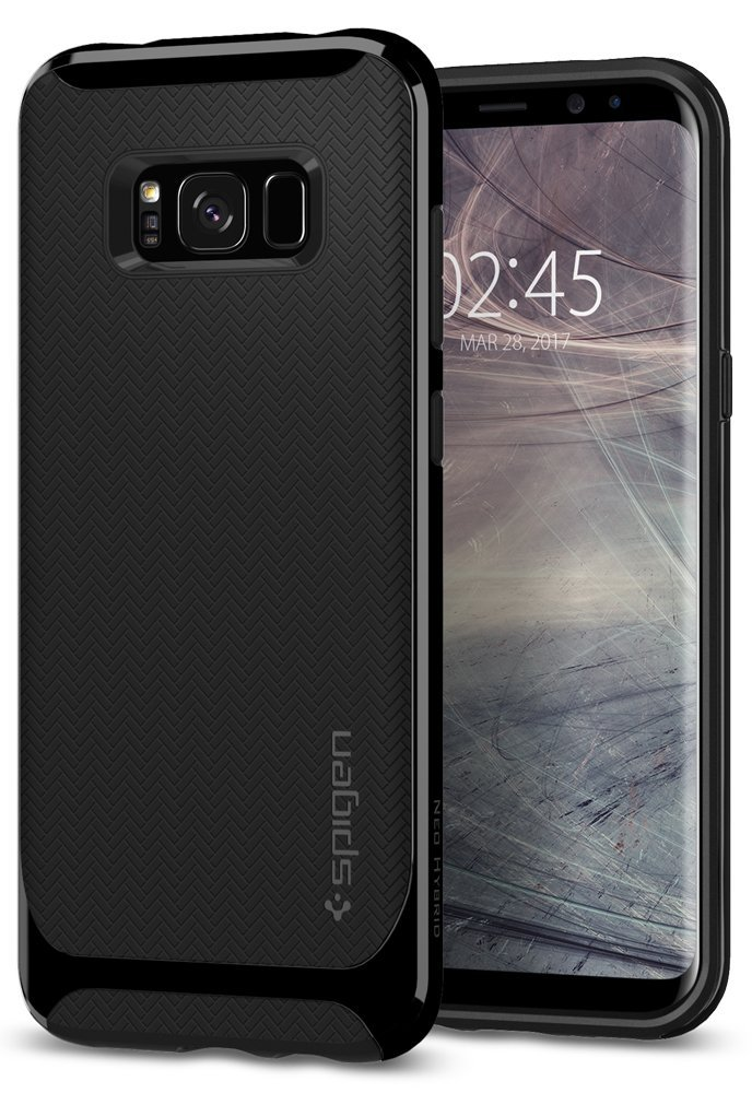 Spigen Θήκη Neo Hybrid Samsung Galaxy S8 - Shiny Black (565CS21599)