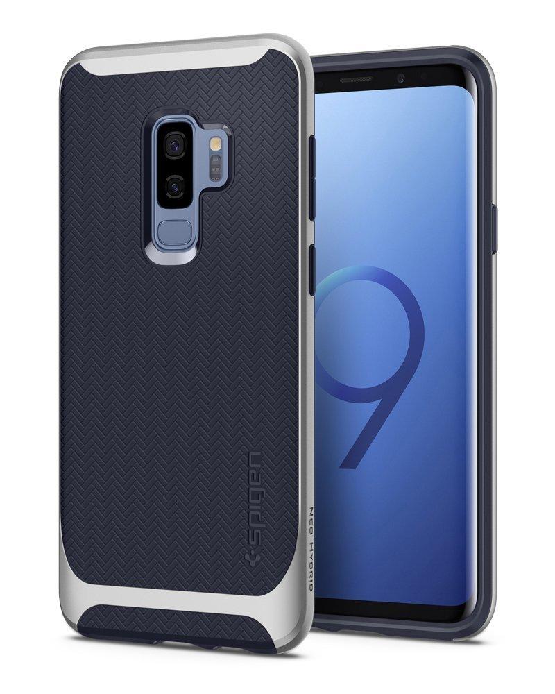 Spigen Θήκη Neo Hybrid Samsung Galaxy S9 Plus - Arctic Silver (593CS22945)