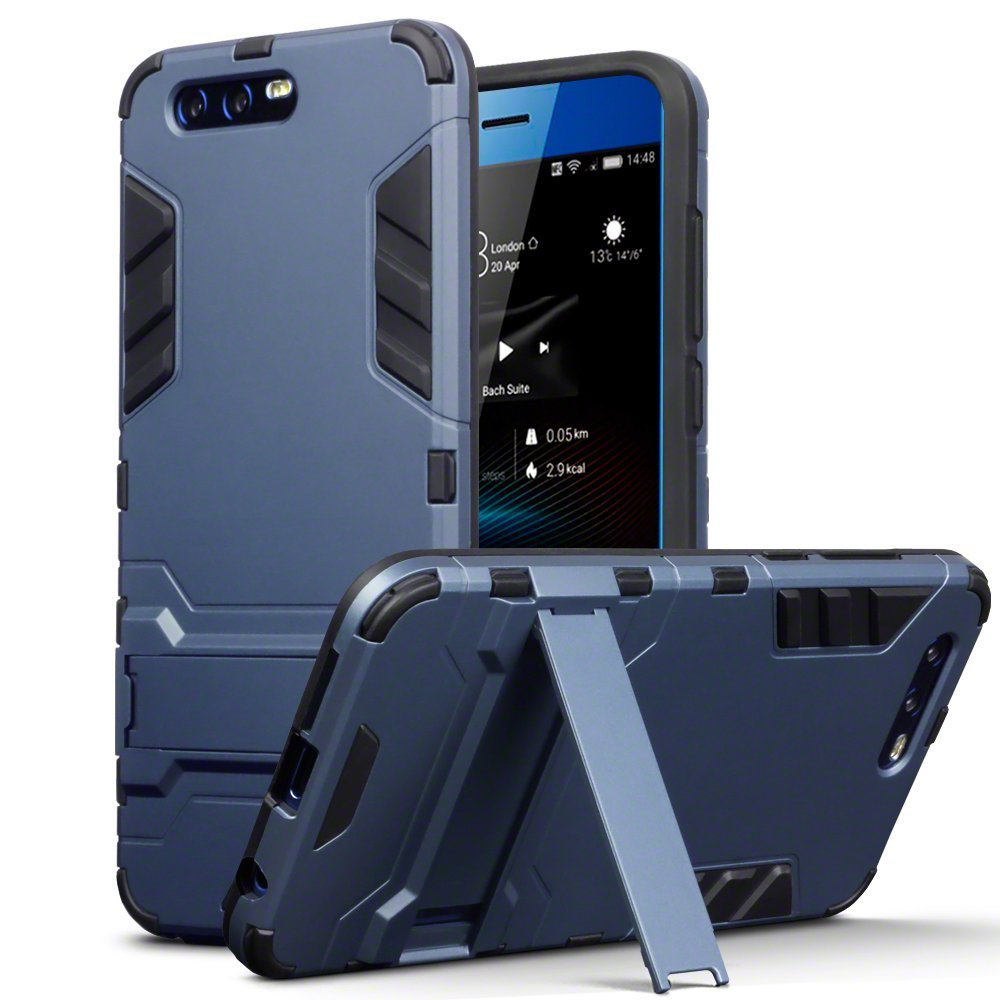 Terrapin Ανθεκτική Dual Layer Θήκη  Honor 9 - Blue (131-083-038)