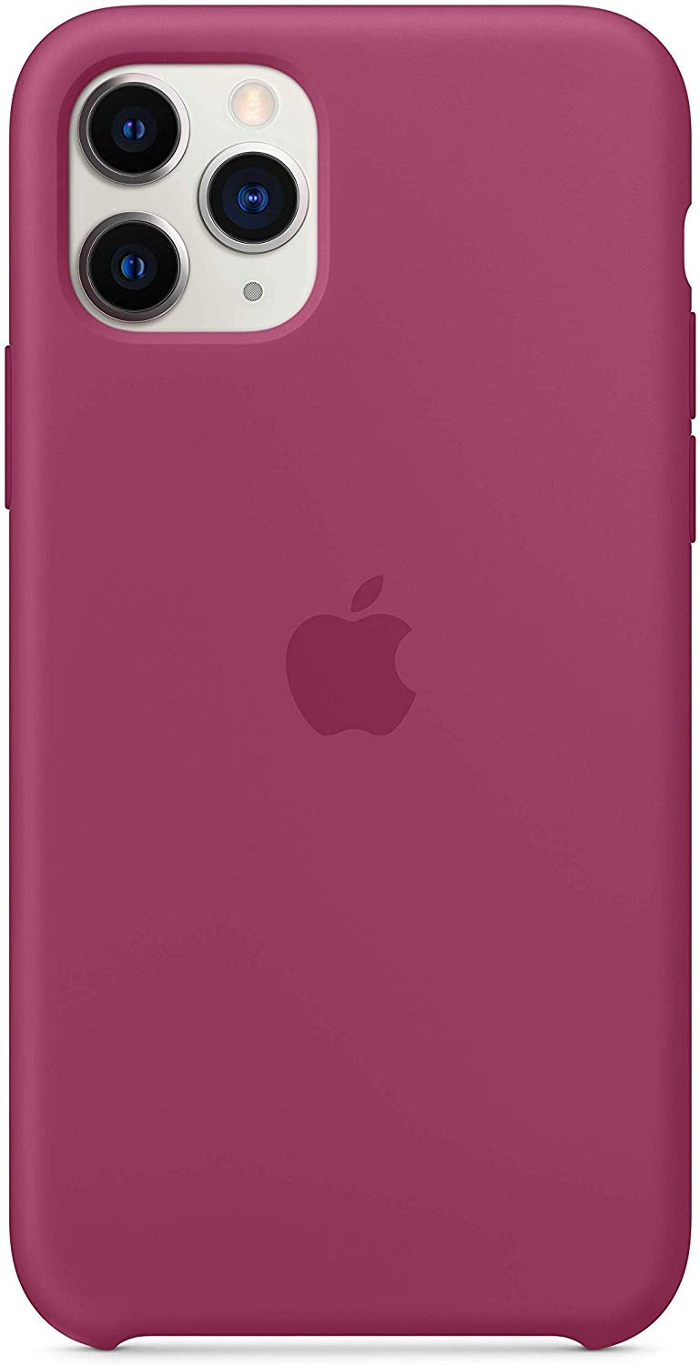 Official Apple Silicone Cover - Θήκη Σιλικόνης iPhone 11 Pro - Pomegranate (MXM62ZM/A)