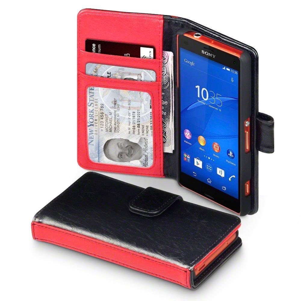 Δίχρωμη Θήκη Sony Xperia Z3 Compact - Πορτοφόλι by Covert (117-005-321)