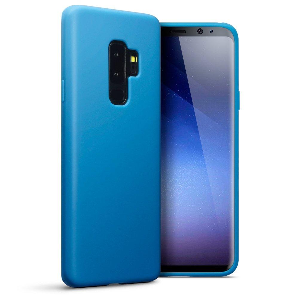 Terrapin Θήκη Σιλικόνης Samsung Galaxy S9 Plus - Light Blue (118-002-682)